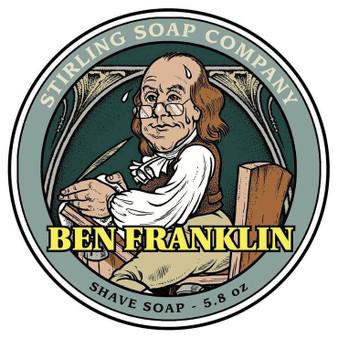 Stirling Shave Soap - Ben Franklin