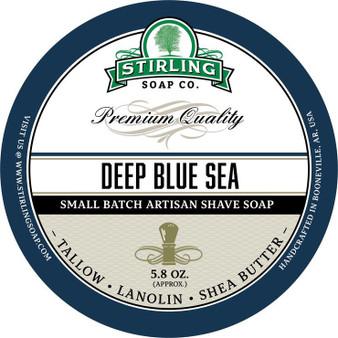 Stirling Shave Soap - Deep Blue Sea