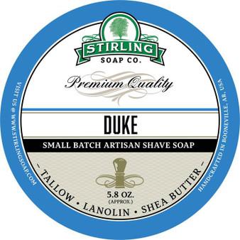 Stirling Shave Soap - Duke