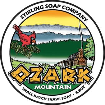 Stirling Shave Soap - Ozark Mountain