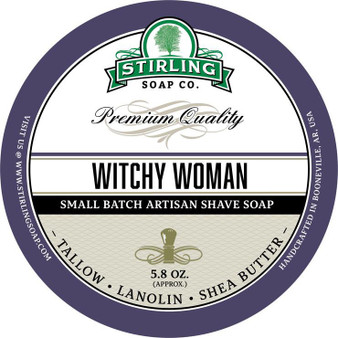 Stirling Shave Soap - Witchy Woman