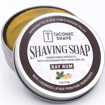 Taconic Shave Soap - Bay Rum