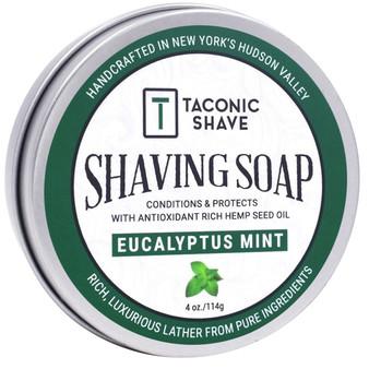 Taconic Shave Soap - Eucalyptus Mint