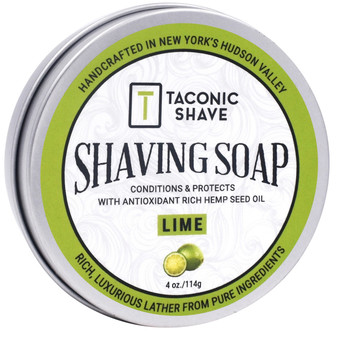 Taconic Shave Soap - Lime