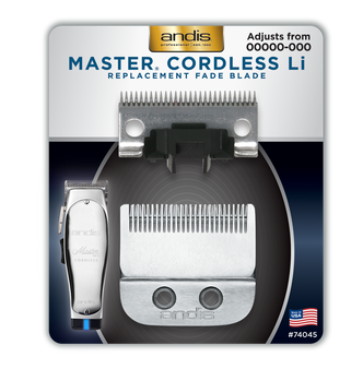 Master® Cordless Li Replacement Fade Blade, Carbon Steel Size 00000-000