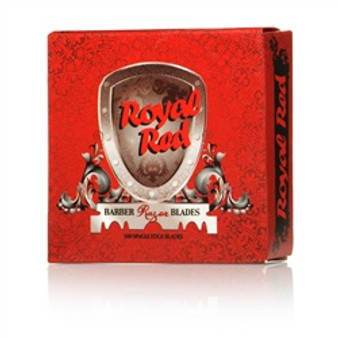 Royal Red Pre-Split Razor Blades