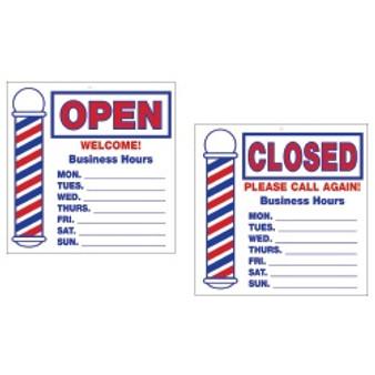 Scalpmaster Open/Close Sign