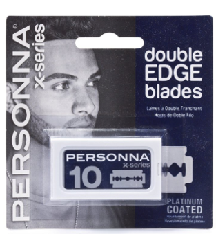 Personna X-Series Platinum Coated Double Edge 10ct