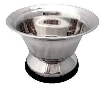 Parker Large Stainless Steel Shaving Bowl