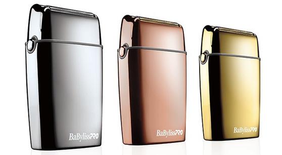BaBylissPRO® FOILFX02™ Cordless Metal Double Foil Shaver