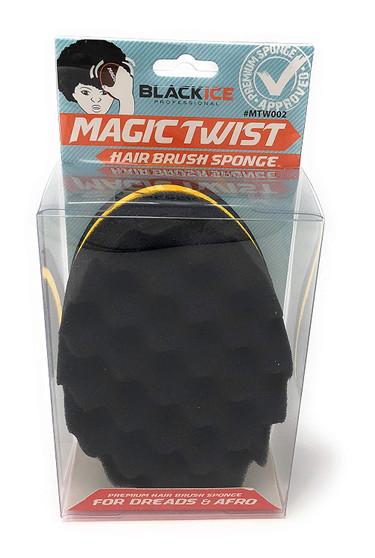 Black Ice Magic Twist Sponge