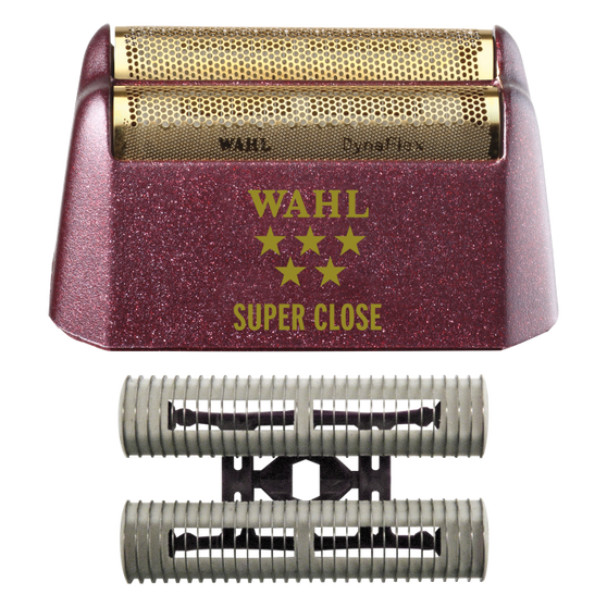 Wahl Shaver/Shaper Replacement Foil & Cutter Bar Assembly - Gold