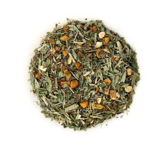 ORGANIC TURMERIC LEMON TWIST | Caffeine Free Herbal Infusion with Turmeric Root | Wellness Tea Collection | 1.5 oz. Jar