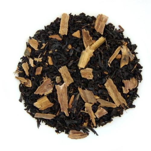 ORGANIC CINNAMON TEA | Ceylon Black Tea with cinnamon spice | Wellness Tea Collection | 2 oz. Jar