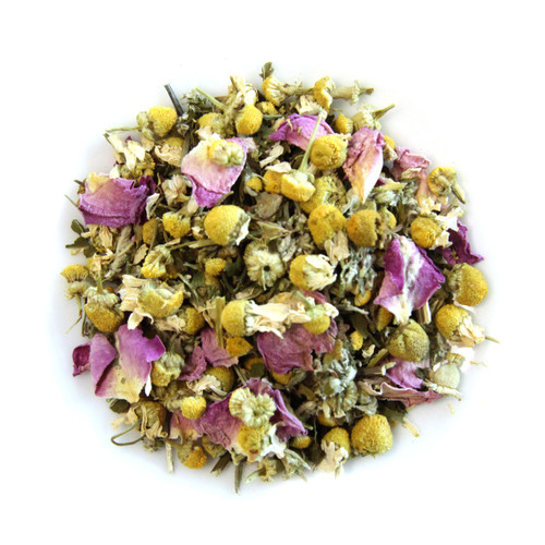ORGANIC DREAM CATCHER TEA | Caffeine Free Herbal Infusion | Wellness Tea Collection  | 1 oz. Jar