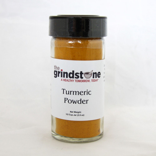 Turmeric Powder, Non GMO, 2.5 oz. In Glass Bottle with sifter