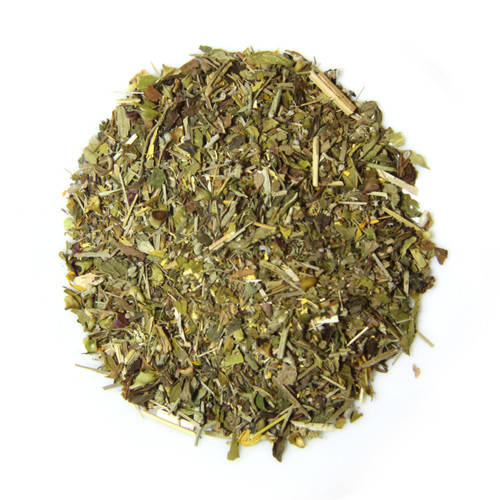 ORGANIC HAPPY TUMMY TEA | Caffeine Free Herbal Infusion | Wellness Tea Collection | 1 oz. Jar