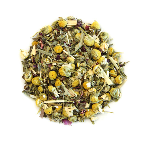 ORGANIC SLEEP TIME TEA | Caffeine Free Herbal Infusion | Wellness Tea Collection | 1 oz. Jar