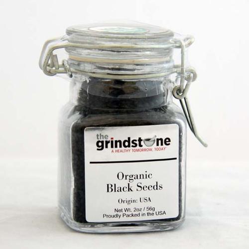 Organic Black Seeds, Black cumin,  Non GMO, 2 Oz Jar