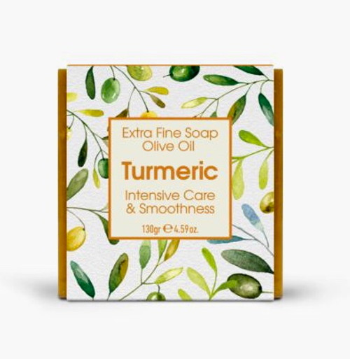 Turmeric & Olive Soap | 100% Natural | Crafted in Crete, Greece