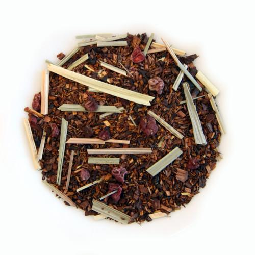 ORGANIC RASPBERRY RUSH | Caffeine Free Herbal Infusion | Dessert Tea Collection | 2 oz. Jar