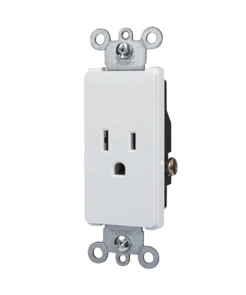 Decorator Single Receptacle 15A-125V