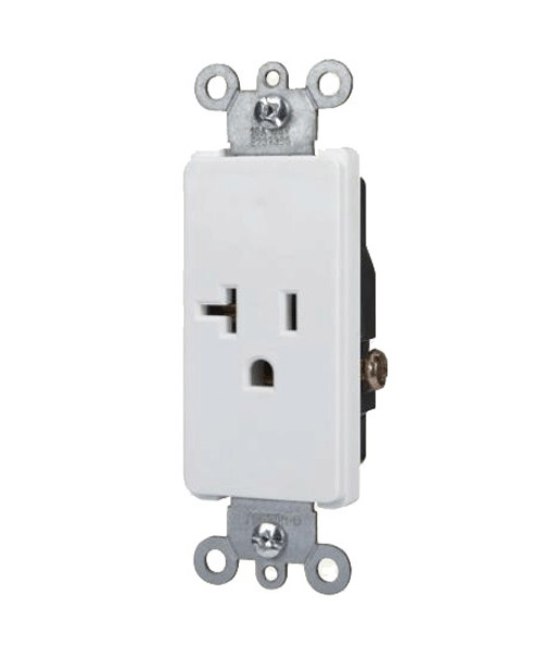 Decorator Single Receptacle 20A-125V