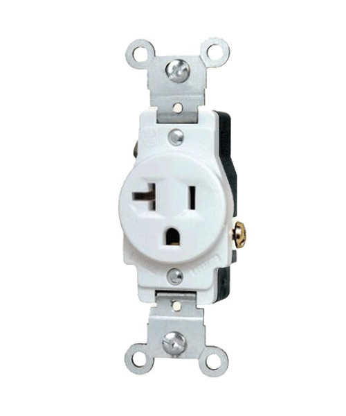 Single Receptacle 20A-125V