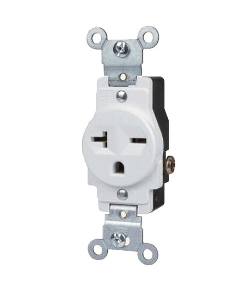 Single Receptacle 20A-250V