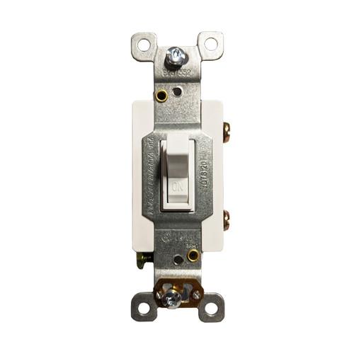 Toggle Switch, Single Pole, 20A, 125V/277V AC