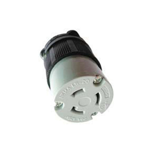 (L5-20C) 20A-125V, 2-Pole 3-Wire Locking Connector