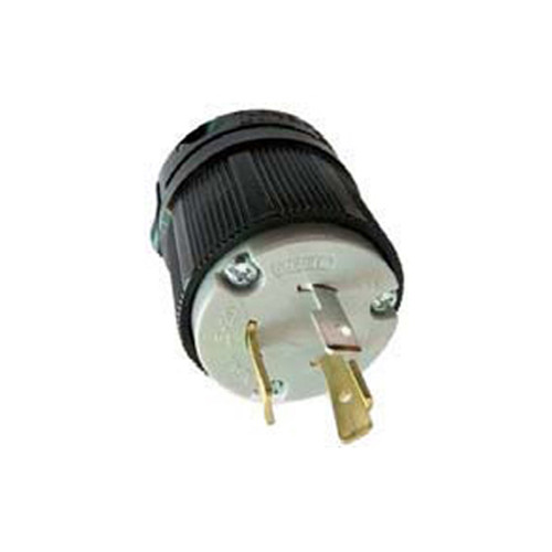 (L5-20P) 20A-125V, 2-Pole 3-Wire Locking Plug