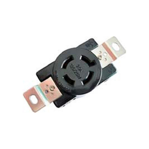 (L14-20R) 20A-125/250V, 3-Pole 4-Wire Locking Receptacle