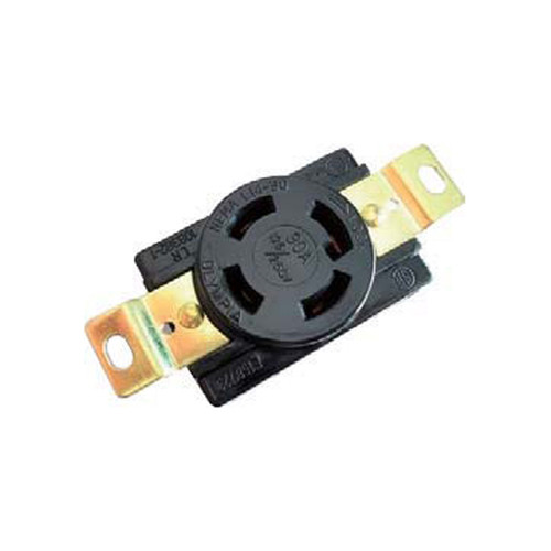 (L14-30R) 30A-125/250V, 3-Pole 4-Wire Locking Receptacle