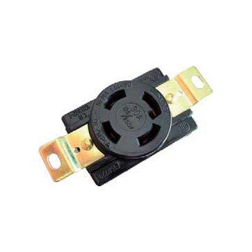 (L14-30R) 30A-125/250V, 3-Pole 4-Wire Locking Receptacle
