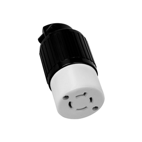 (L15-20C) 20A-250V, 3-Pole 4-Wire Locking Connector