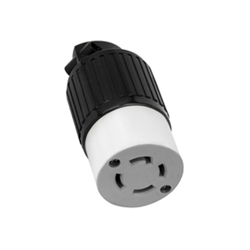 (L15-30C) 30A-250V, 3-Pole 4-Wire Locking Connector