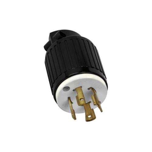 (L15-30P) 30A-250V, 3-Pole 4-Wire Locking Plug