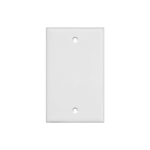 1-Gang Blank Wall Plate, Mid-Size