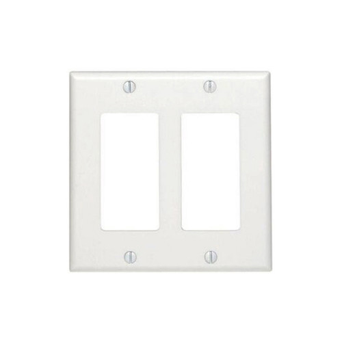2-Gang Decorator Wall Plate