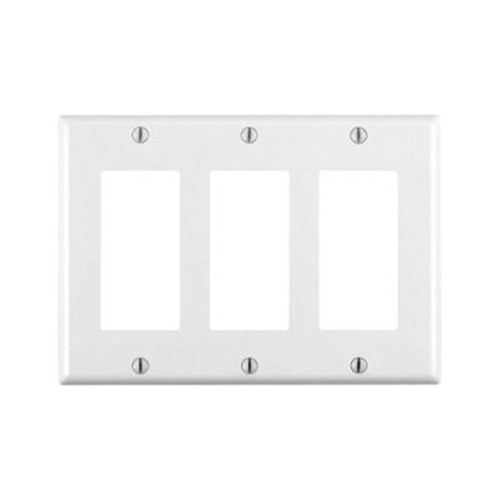 3-Gang Decorator Wall Plate
