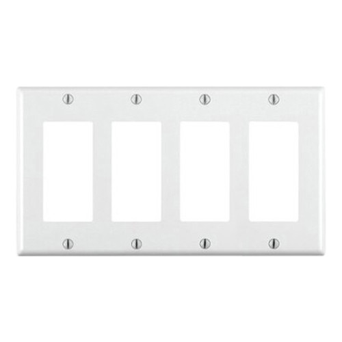 4-Gang Decorator Wall Plate