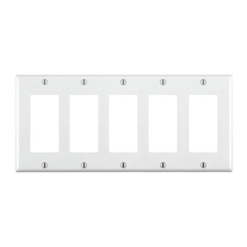 5-Gang Decorator Wall Plate