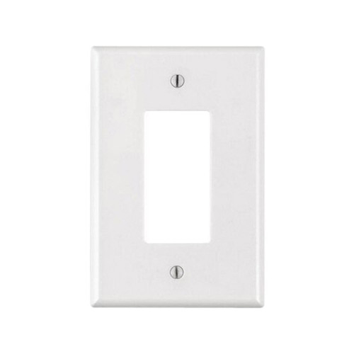 1-Gang Decorator Wall Plate, Oversize Large