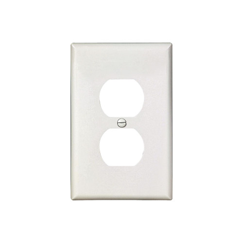 1-Gang Duplex Wall Plate, Mid-Size