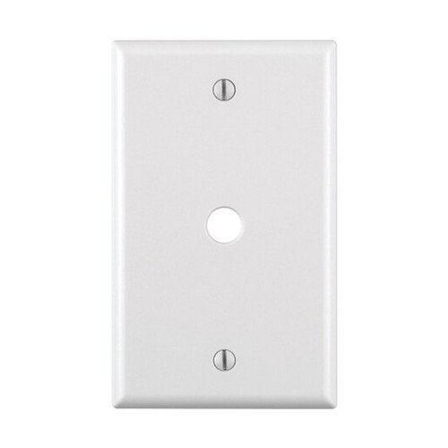 1-Gang Wall Plate - Cable/Telephone