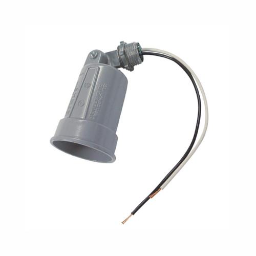Weatherproof 120V PAR 38 150W Lampholder w/ Outer Gasket