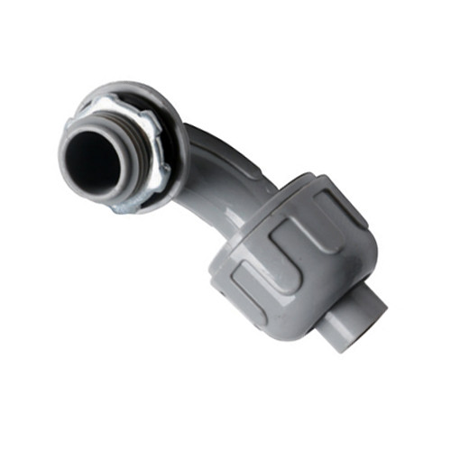Nonmetallic Liquid Tight Connector - 90 Degree, Insulated