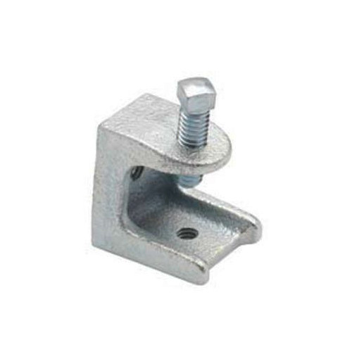 "Malleable Iron 1"" Universal Beam Clamp; 1/4""-20 Tap, 3/4"" Jaw"