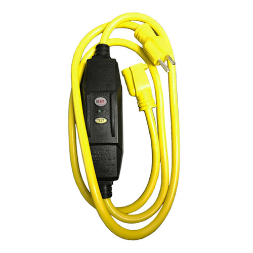 Portable GFCI w/ SJTW 12AWG/3C, Yellow
